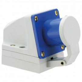 CEE Wandgerätestecker, 3-polig, 16A/230V, IP44 spritzwassergeschützt
