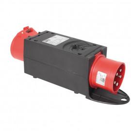 CEE Adapter, 16A Stecker auf 32A-Kupplung mit Polwendestecker - PCE