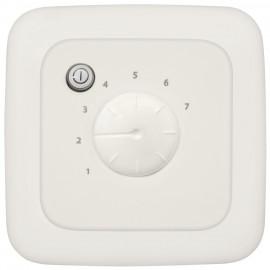Raumthermostat, 16A, +10° bis +45° mit Fernfühleranschluss, KLEIN SI® reinweiß