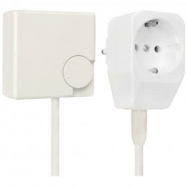 Steckdosen Thermostat, RTR-E 3311, 230V / 16A, +5° bis +30°, reinweiß