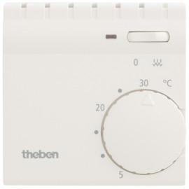 Raumthermostat, Aufputz Öffner, RAM 704, 230V/10A, +5° bis +30°, mit Schalter, reinweiß