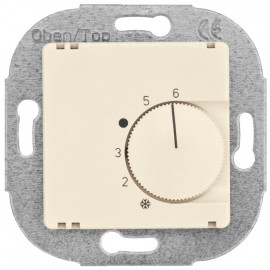 Raumthermostat, Kombi, Öffner,, 10A (4A), +5° bis +30°, KLEIN®-KG 55 weiß
