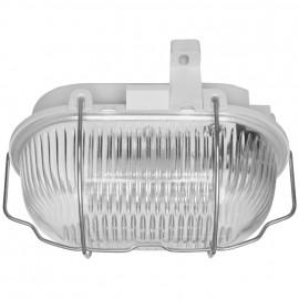 Kellerleuchten LED Ovalleuchte, LEDs / 9,1W, 4000K, IP44 mit Klappbügel
