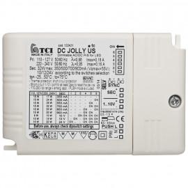 LED Netzteil, 230V, 3 Ausgangsspannungen und 3 Ausgangsströme, elektronisch TCI