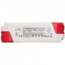 LED Netzteil, 12V-DC / 10-40W, dimmbar Ledissimo