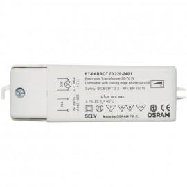 Elektronische Halogentrafos NV Sicherheitstrafo 230V / 11,5V / 20-70W Osram