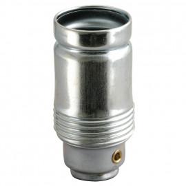 Lampen Metallfassung E14, verzinkt ohne Außengewinde