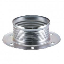 Lampen Metallgegenring E14, verzinkt 2 Stück