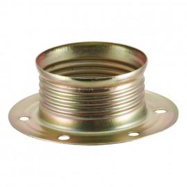 Lampen Metallgegenring E14, vermessingt 2 Stück