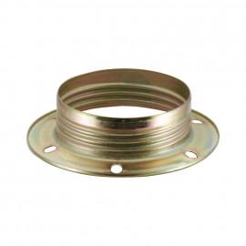 Lampen Metallgegenring E27, vermessingt 2 Stück