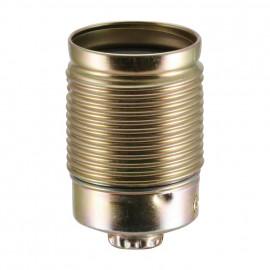 Lampen Metallfassung E27, mit Außengewinde vermessingt