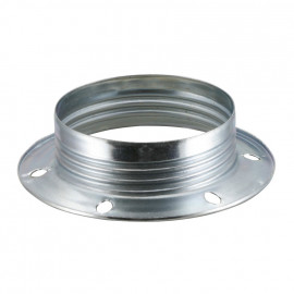 Lampen Metallgegenring E27, verzinkt 2 Stück
