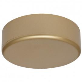 Verteilerdose Baldachin, Ø 70 mm, Höhe 20 mm, gold matt