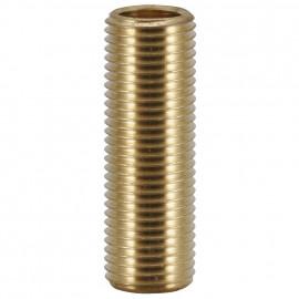Gewinderöhrchen, Messing, M10, Länge 12 mm