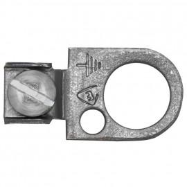 Ringöse, Metall, mit Erdung