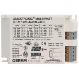 Vorschaltgerät, QUICKTRONIC QTP-M, 1 x 220-240V / 26-42W Osram