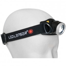 LED Stirnlampe H7.2, 1 LED Leuchtweite 160 m - Led Lenser
