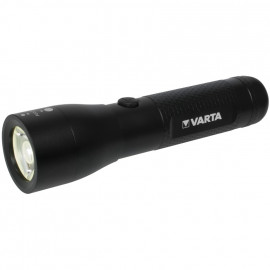 LED Taschenlampe, HIGH OPTICS LIGHT Länge 144mm, Ø 37mm - Varta