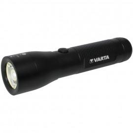 LED Taschenlampe, HIGH OPTICS LIGHT Länge 144mm, Ø 37mm - Varta