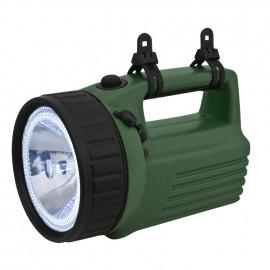 Handscheinwerfer, 1 Halogenlampe und 12 LEDs - Ampercell
