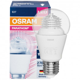 LED Lampe, PARATHOM CLASSIC A, AGL Form, klar, E27 / 240V 8W (60W), 806 lm