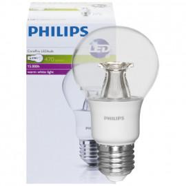 LED Lampe, COREPRO LEDBULB, AGL klar, E27 / 230V 6,5W (40W), 470 lm Philips