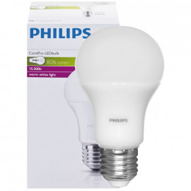 LED Lampe, COREPRO LEDBULB, 9W (60W), 806 lm AGL matt, E27 / 230V
