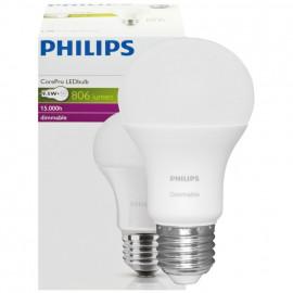 LED Lampe, 9,5W (60W), 806 lm COREPRO LEDBULB, AGL matt, E27 / 230V