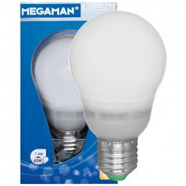LED Lampe, AG LED Classic, E27 / 7,4W, matt, 810 lm, 4000K Megaman