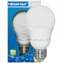 LED Lampe, AGL LED Classic, E27 / 6,5W, matt, 2800K für Pflanzenbeleuchtung