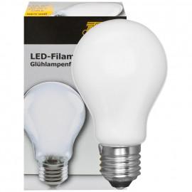 LED Fadenlampe, AGL Form, E27 / 4W, matt, 446 lm, TS Electronics