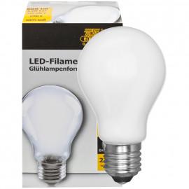 LED Fadenlampe, AGL Form, E27 / 5,5W, softweiß, 608 lm, TS Electronics
