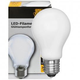 LED Fadenlampe, AGL Form, E27 / 6W, matt, 770 lm, TS Electronics