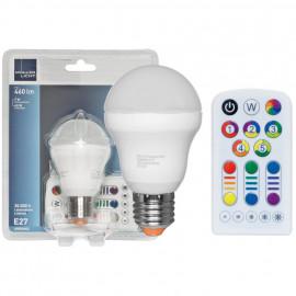 LED Allgebrauchslampe, E27 / 7W RGB, 460lm, 3000K Müller Licht