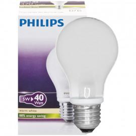 LED Lampe, CLASSIC, AGL matt, 5W (40W), 470 lm E27 / 230V Philips