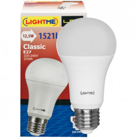 LED Lampe, AGL-Form E27 / 12,5W, opal, 1521 lm LightMe