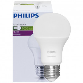 LED Lampe, 11,5W (75W), 1055 lm COREPRO LEDBULB, AGL matt, E27 / 230V