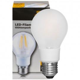 LED Fadenlampe, AGL, E27 / 5,5W, matt, 608 lm, TS Electronics