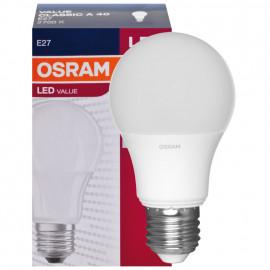 LED Lampe, PARATHOM CLASSIC A, AGL Form, matt, E27 / 240V, 6W (40W), 470 lm