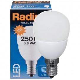 LED Lampe, Tropfen, RaLED STAR DROP, E14 / 3,8W, matt, 250 lm, Radium