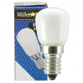 Kühlschranklampe, E14 / 25W, Birnenform, matt Müller Licht