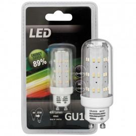 LED Lampe, Form Röhrenlampe, GU10 / 4W, klar, 400 lm, LeuchtenDirekt