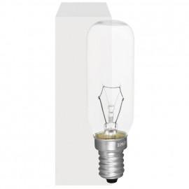 Röhrenlampe, E14 / 40W, Größe 4, klar Länge 85 mm Ø 25 mm
