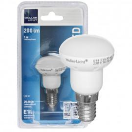 LED Lampe, Reflektor, R39, E14 / 3W, 200 lm, Müller Licht