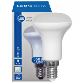 LED Lampe, Reflektor, R50, E14 / 5W, 350 lm, LED's light