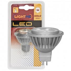 LED Lampe, Reflektor, GU5,3 / 5W, 280 lm, 3000K, Lightme
