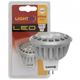 LED Lampe, Reflektor, GU5,3 / 4W, 200 lm, 3000K, Lightme