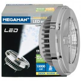 LED Lampe, Reflektor, G53 / 11W, 600 lm, 2800K, Megaman