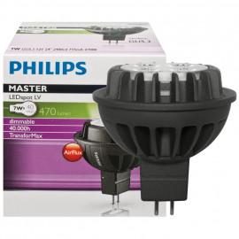 LED Lampe, Reflektor, MASTER LEDSpot, GU5,3 / 7W, 470 lm, 2700K, Philips