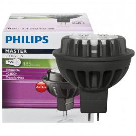 LED Lampe, Reflektor, MASTER LEDSpot, GU5,3 / 7W, 485 lm, 3000K, Philips